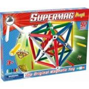 Set Constructie Magnetic 92 Piese Maxi Primary