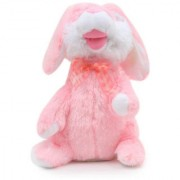 Dancing Singing Plush Cute Rabbit Bunny Soft Fluffy Toy (Pink)