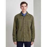TOM TAILOR DENIM Jas in overhemd stijl, Heren, faded moss green, XXL