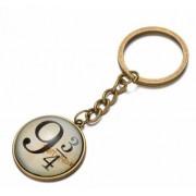 9 és 3/4 feliratú kulcstartó