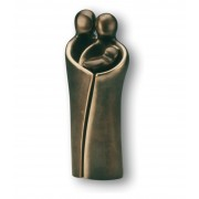 """Statueta bronz """"Cuplu cu nou nascut"""""""
