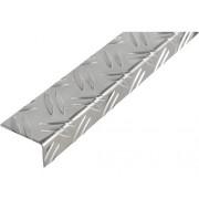 Coltar aluminiu striat asimetric