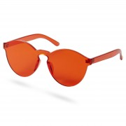 Paul Riley Peppy Rote Sonnenbrille