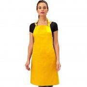 Merkloos Keukenschort geel voor volwassenen - Action products