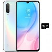Xiaomi Mi 9 Lite (64 GB, 6 GB de RAM) visualización de 6,39 pulgadas, Dual SIM GSM desbloqueado de fábrica Versión Internacional 4G LTE de EE.UU. y Global, Blanco Perlado, 64GB + 64GB SD + Case Bundle