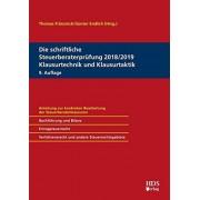 Matthias Goldhorn - Die schriftliche Steuerberaterprüfung 2018/2019 Klausurtechnik und Klausurtaktik - Preis vom 02.04.2020 04:56:21 h
