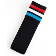 Cougars Mens Football Socks Red/Black