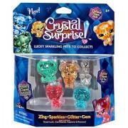 Crystal Surprise! Zing Sparkles Glitter & Gem Lucky Pets Figure 5-Pack [Random Colors!]