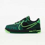 Nike Air Force 1 React QS Black/ Green Strike-Pine Green