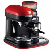 Espressor manual Ariete 1318BKRD Moderna 1080W Rasnita incorporata Sistem cappuccino 15Bar Rosu