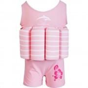 Konfidence Costum inot copii cu sistem de flotabilitate ajustabil pink stripe 4 5 ani
