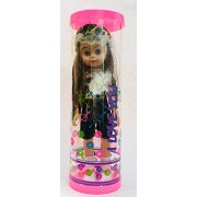 RD Grand, Barbie Doll Birthday Wishes Gift (Multi Color)