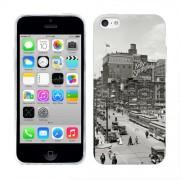 Husa iPhone 5C Silicon Gel Tpu Model Vintage City
