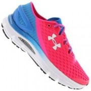 Under Armour Tênis Under Armour SpeedForm® Gemini 2 - Feminino - Rosa/Azul Claro