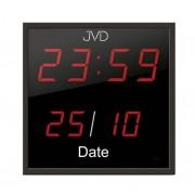 Zegar ścienny JVD DH41 LED Cyfry 5,8 cm Data 28x28 cm