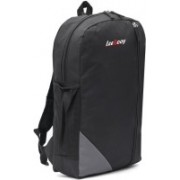 LeeRooy 19 inch Expandable Laptop Backpack(Black)