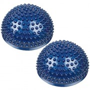 Balance Pods, PeleusTech 1Pair Hedgehog Balancing Pods Domed Stability Pods 16cm/6.3inch for Children and Adults - Blue