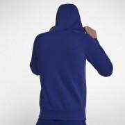 Jordan Flight Herren-Basketball-Hoodie mit durchgehendem Reißverschluss - Blau