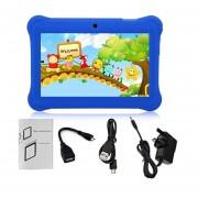 EY Q88 Con Pantalla Táctil De 7 Pulgadas Niños Tablet 512 MB +8GB UK El Tapón Elástico De Regalo De Cumpleaños-Azul Oscuro