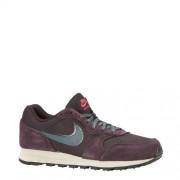 Nike MD Runner 2 SE sneakers aubergine/groen (dames)