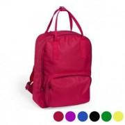 Ryggsäck med topphandtag och fack 145400 - Färg: Röd