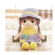 45cm cute cartoon girl baby Angela doll plush toys Stuffy dolls for girls
