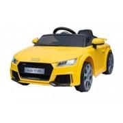 Masinuta electrica Audi TT RS 2x 30W 12V Music Player USI Galben