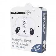 WEE GALLERY Livre en tissu - Panda