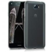 kwmobile Průhledné pouzdro pro Huawei Y6 II Compact - černá