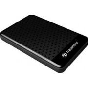 HDD Extern Transcend 25A3K, 2.5 inch, 2TB, USB 3.0, Protectie la soc (Negru)