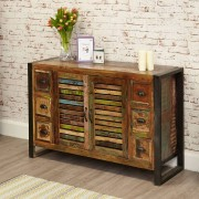 Baumhaus Urban Chic Urban Chic Sideboard with 6 Drawers Fully Assembled