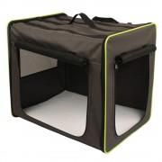 Caseta plegable First Class Basic para mascotas - Talla M