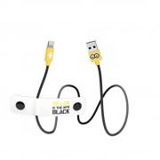 USB Tribe Minions Jail Time Minion Lightning Cable - сертифициран Lightning кабел за iPhone, iPad и iPod с Lightning (120 см)