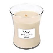 WoodWick Vaza de lumânare parfumată Cocos 275 g