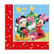 20 Servetele Mickey Christmas