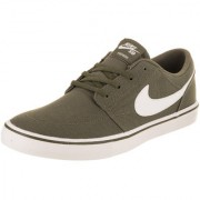Nike Sb Portmore Ii Solar Cnvs Khakhi Men'S Running Shoes