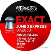 Śrut Diabolo JSB JUMBO EXACT EXPRESS 5,52 mm