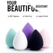 Veronique - Applicator Sponge for Foundation Powder Facial Beauty Contouring Concealer - 2 Qty