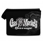 Gas Monkey Garage Logo Messenger Bag