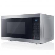 Sharp YC-MG81E-S Micro-ondas com Grill 28L 900W Preto/Prateado