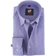 Suitable Overhemd Indigo Red 141-3