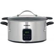 Slow cooker Heinner HSCK-T6IX, 6L, Timer (Inox)