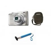 Nikon Camara nikon a100 plata 20.1 meg sensor ccd /5x /bateria/video hd/funda/palo selfie