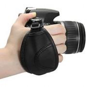 Universal Leather Adjustable Hand Grip Wrist Strap of DSLR Camera