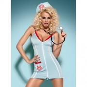 Fantasia Médica Doctor Dress C/ Estetoscópio