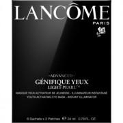 Lancôme Génifique Advanced Yeux Light-Pearl™ mascarilla parche para contorno de ojos rejuvenecedor de la piel 6 x 2 ud