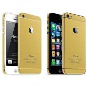Bumper stickers Goud iPhone 5 5s SE Decor Gold Skin