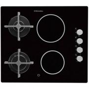 Комбиниран плот за вграждане, Electrolux EGE6172NOK, 4 зони за готвене