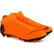 Nike SUPERFLY 6 ACADEMY FG/MG Football Shoes For Men(Orange, Black)