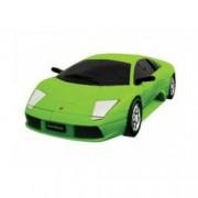 Kit de construit Lamborghini Murcielago verde Puzzle Fun 3D